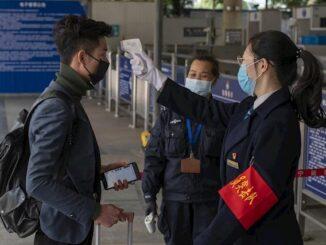 Las autoridades chinas intentando controlar el coronavirus