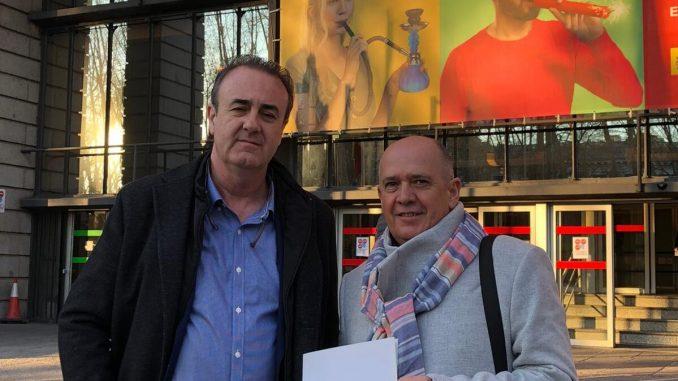 Víctor Pedrera y Gabriel del Pozo