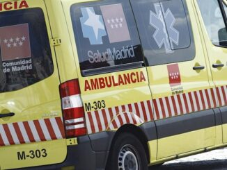 Una ambulancia del SUMMA 112