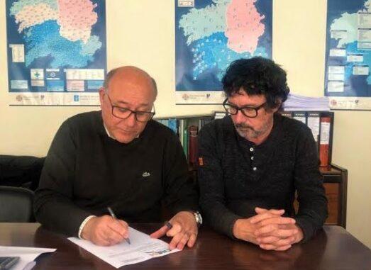 Ramón Barreiro y Antonio Otero