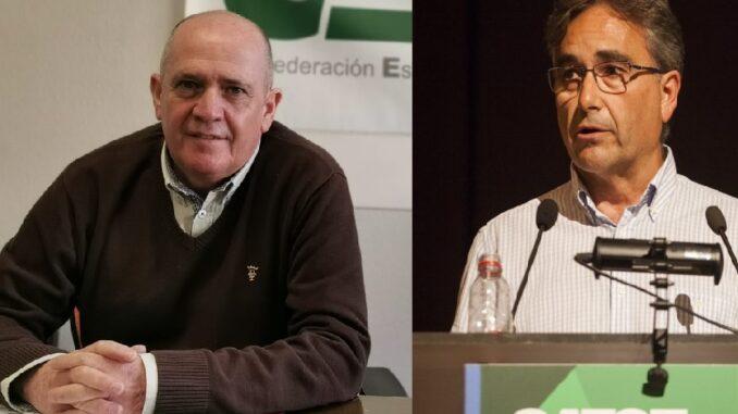 Gabriel del Pozo y Manuel Cascos