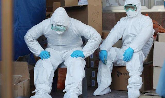 Los médicos, en primera línea frente al coronavirus