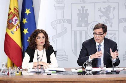Imagen tras el Consejo de Ministros