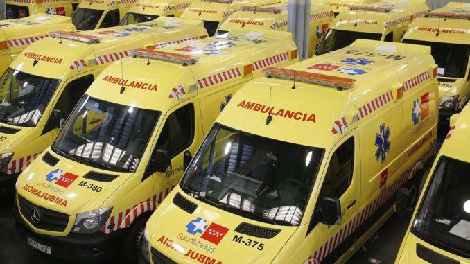 Ambulancias del SERMAS