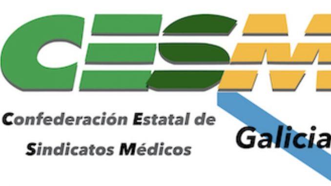CESM Galicia homanjea a los fallecidos