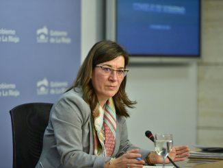 Sara Alba, consejera de Salud de La Rioja