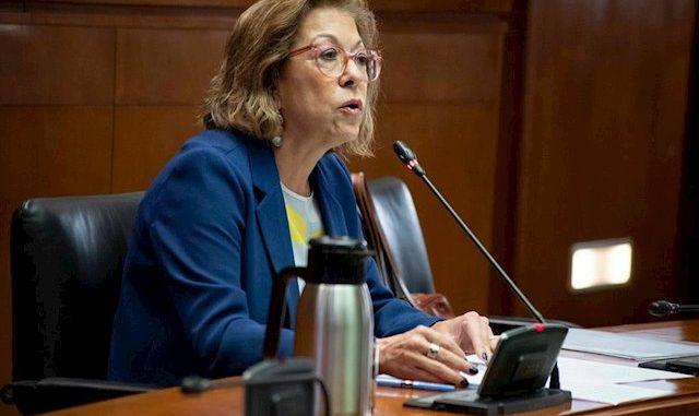 Pilar Ventura, ya exconsejera de Sanidad
