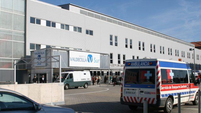 Hospital Marqués de Valdecilla en Santander.