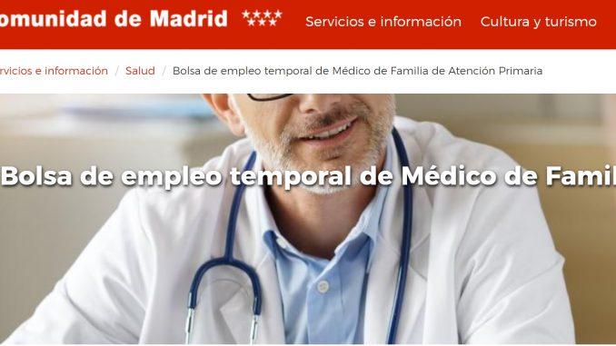 Listados de la Comunidad de Madrid
