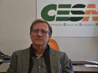 Pedro A. Martínez, responsable de CESM Prisiones.