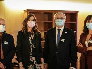 Gabriel del Pozo, Rosa Romero, Serafín Romero y Pilar Garrido.