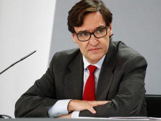 Salvador Illa, exministro de Sanidad.