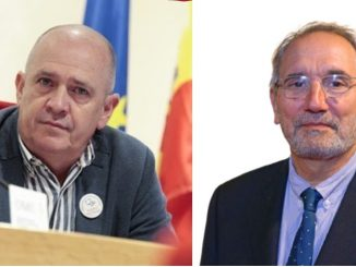 Gabriel del Pozo, secretario general de CESM, y Vicenç Martínez, DGOP del Ministerio de Sanidad