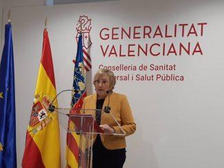 Ana Barceló, consellera de Sanitat.
