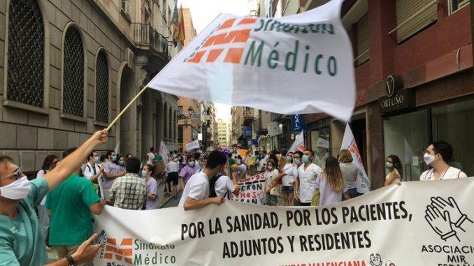 Manifestación MIR en la C.Valenciana.