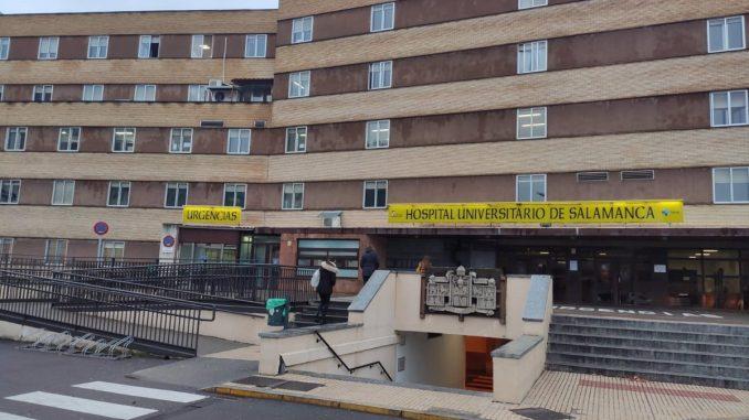 Hospital Universitario de Salamanca.