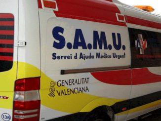 Ambulancia del S.A.M.U.