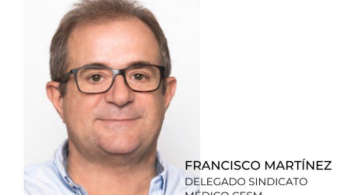 Francisco Martínez, de CESM Murcia