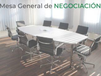 Última Mesa de Negociación celebrada.