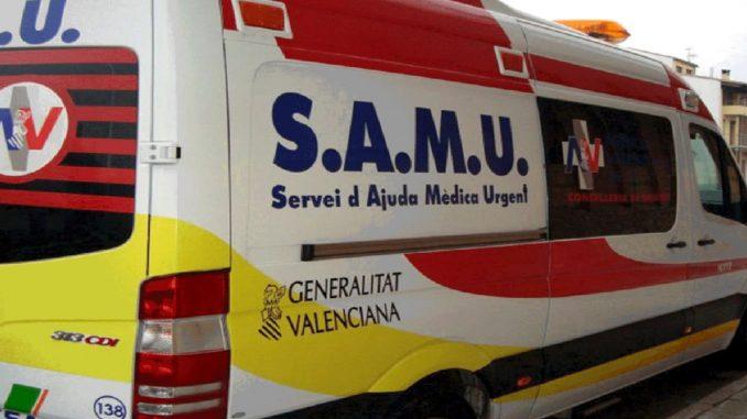 Vehículo de SAMU.
