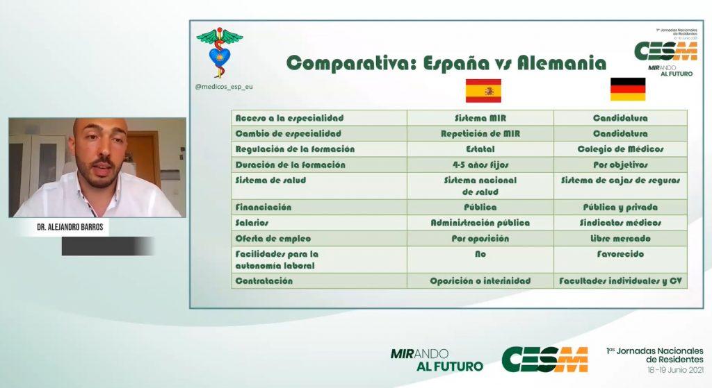 Momento de la intervención de Alejandro Barros.
