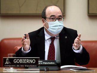 Miquel Iceta, ministro de Política Territorial y Función Pública.