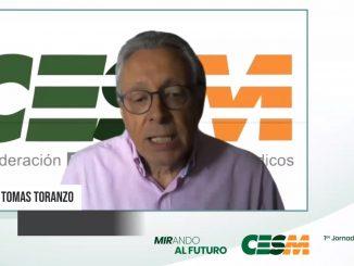 Tomás Toranzo, presidente de CESM.