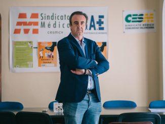 Víctor Pedrera, secretario general de CESM CV.