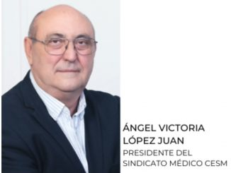 Ángel Victoria, presidente de CESM Murcia.