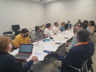 Momento de la reunión de Juriscesm en Valencia.